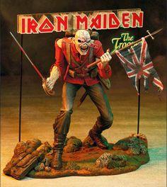 Eddie: os Action Figures do Iron Maiden | IRON MAIDEN 666 - BRASIL