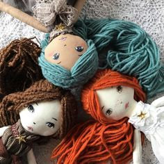 """206 Likes, 18 Comments - ⭐️ Doll Maker ⭐️ (@little.fairy.forest) on Instagram: """"ABOUT NEXT RELEASE: I'm happy to announce, that all the new dolls are ready for the shop! Three…"""""""