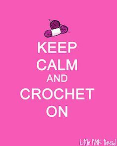 Keep Calm~Crochet On