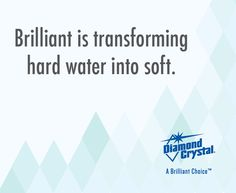 Help soften your water by adding Diamond Crystal® Water Softener Salt to your water softener. #DiamondCrystalSalt