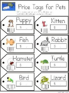 Playing Pretend - Animal Sample Pages