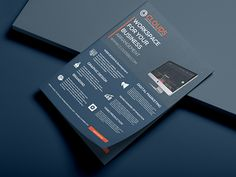 Corporate Business Flyer Templates by Designer Shamim Corporate Flyer, Corporate Business, Business Brochure, Creative Business, Business Flyer Templates, Flyer Design Templates, Brochure Template, Templates Free, Brochure Cover