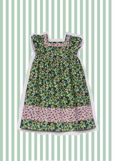 Girl's Liberty Print Dress.