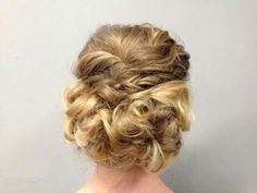Updo by our talented stylist Simone