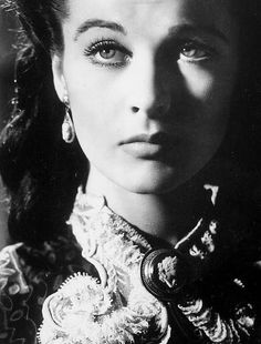 ✿ڿڰۣ Vivien Leigh's facial expression in Gone With the Wind are incredible.  I love watching the movie over and over through the years as I see different nuances.