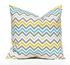 Chevron Decorative Pillows One 20 x 20 Throw by FestiveHomeDecor, $17.00