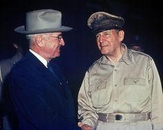 General MacArthur was dismissed by President Truman. If he were left in charge, we would have gotten rid of communism which eventually survived as psychotic and tyrannical dictatorship-  regime of North Korea. Three generation from Kim IL sung to Kim Jungil to Kim Jungeun. Truman's failed political outcome.