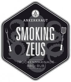 Smoking Zeus - Gyros BBQ-Rub Tüte, 250 Gramm | Ankerkraut | Rubs & Gewürze | Gewürze, Saucen & Medien | 360°BBQ - Das kulinarische Rundum-Grillerlebnis