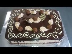 BOLO DE CHOCOLATE + BICOS DE CONFEITAR - YouTube