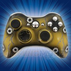 Bullet Cracked Xbox 360 Modded Controller is a perfect gift for a special gamer in your life! All of GamingModz.com Xbox 360 modded controllers are compatible with every major game on the market today.  If you decide to get one of our Xbox 360 or Playstation 3 modded controllers, your gaming experience will increase, overall performance will rise and it will allow you to compete against more experienced players. Watch the video now: http://www.youtube.com/watch?v=tovHEja5AS0=share