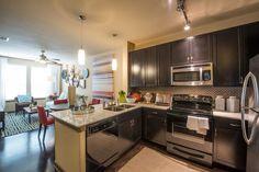 Luxury Kitchen | The Southwestern Luxury Apartments Dallas TX
