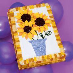 Sun-sational Flower Cake   Themed Cakes   FamilyFun