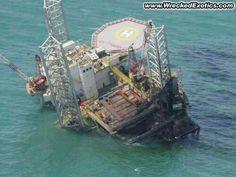 Off-Shore Drilling Rigs Eyeball Oilfield Trash, Oil Platform, Oil Tanker, Abandoned Ships, Drilling Rig, Oil Industry, Oil Rig, Tug Boats, Oil And Gas