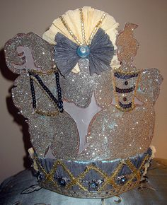 Queen of the Soiree! Crown! 2 by Lisa Kettell, via Flickr