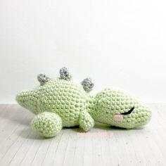 Dinosaur Plush by peachycuteshop (Pattern by @MissBajoCollection)