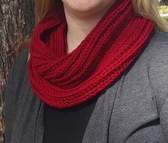 Red Wine Brioche Knit Cowl by mrsputneyknits on Etsy https://www.etsy.com/listing/219973656/red-wine-brioche-knit-cowl