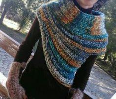 Crochet Katniss Cowl FREE Pattern