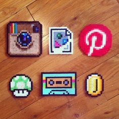 Nerdy Perler Fun – Flickr Friday | Geek Crafts