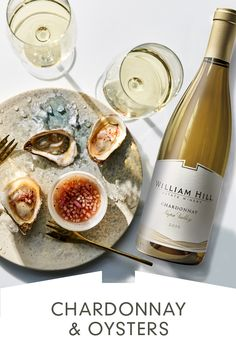 Our elegantly-structured William Hill Chardonnay is a terrific match for fresh, creamy oysters. Find more pairings a our website. Easy Drink Recipes, Alcohol Recipes, Seafood Recipes, Wine Recipes, Cooking Recipes, Wine Appetizers, Appetizers For Party, Fish Dishes, Tasty Dishes