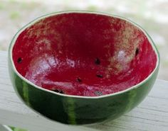 Gourd Bowl  have done similar to these both with gourd & paper clay for years.  Fun & functional