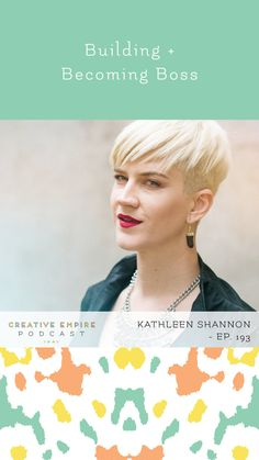 Episode Building + Becoming Boss, with Kathleen Shannon - the Creative Empire podcast — Creative Empire™ Cuddling On The Couch, Empire, Boss, Things To Come, How Are You Feeling, Building, Creative, Buildings, Construction