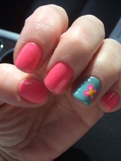 Rachel, Shelby Twp...gel polish w/ nail art