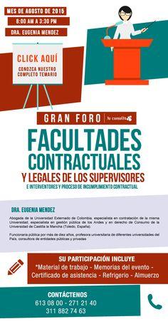 """#NOVOCLICK esta con el  Gran foro """"Facultades contractuales y legales"""""""
