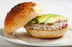 Avocado Tuna Salad Sandwich | Omnivore's Cookbook
