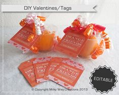 Valentine's classroom treats: orange | Cool Mom Picks