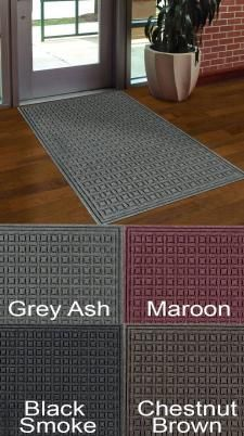 Eco Select Entrance Mat is the latest in eco friendly entrance matting. 30 oz face weight fabric with 100% post consumer recycled plastic bottles!