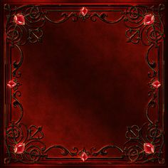 Frame with a red decor and gems by Lyotta on DeviantArt Paper Background, Textured Background, Instagram Frame Template, Flower Phone Wallpaper, Antique Frames, Borders And Frames, Pretty Patterns, Paint Shop, Flower Frame