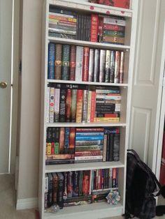 Nicely filled shelves