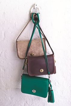 The 1974 Penny Shoulder purse by Coach was another classic. Here, it's possible to