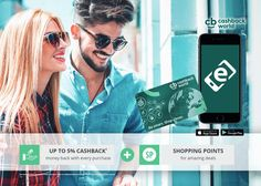 Get Cash Back and Shopping Points