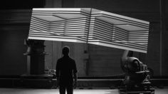 This astounding video just took projection-mapping to the next level. From San Fran design firm Bot & Dolly.