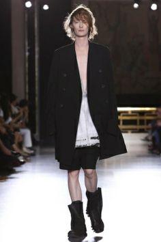 Rick Owens, Menswear, Spring Summer, 2015, Fashion Show in Paris