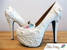 Oh how sweet! Shoe Bakery Custom heels | GALLERY