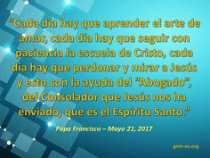 Good News Ministries is the Catholic center for faith growth with daily reflections, virtual retreats, prayer, WordBytes articles and more. Regina Coeli, Pope Francis Quotes, Papa Francisco, Interesting Quotes, Holy Spirit, Read More, Patience, Ministry, Forgiveness