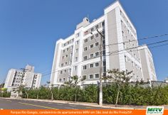 Paisagismo do Rio Ganges. Condomínio fechado de apartamentos localizado em São José do Rio Preto / SP.