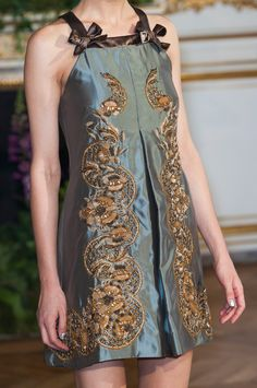 Alexis Mabille at Couture Fall 2013 (Details)