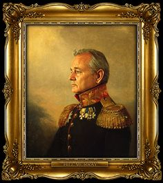 Bill Murray as a Russian General
