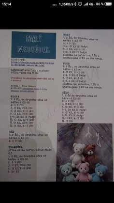 - AmigurumiHouse - Her Crochet Doll Amigurumi Free Pattern, Crochet Dog Patterns, Crochet Bunny Pattern, Crochet Bear, Amigurumi Doll, Crochet Toys, Free Crochet, Diy Crafts Crochet, Etsy
