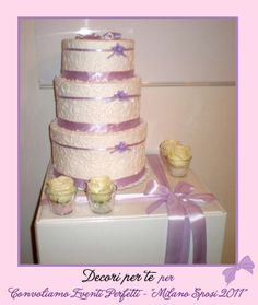"""Milano Sposi"" Fair wedding cake card box"