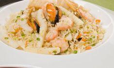 Receta de Arroz jazmín con frutos de mar - Iwao Komiyama