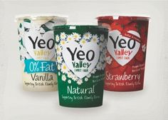Love the new packaging for @yeovalley by @bigfishlondon #packaging #design #food