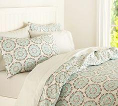 Medallion Organic Duvet Cover & Pillowcases | PBteen