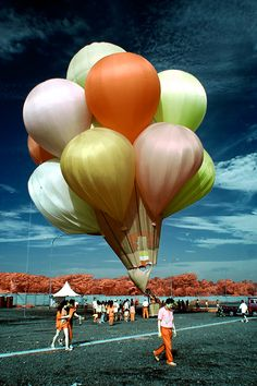 Beautify balloons look like they are made of silk