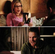 Arrow - Felicity & Oliver #4.11 #Olicity