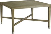 Baker Furniture : Larchmont Square Dining Table - 3678 : Barbara Barry : Browse Products