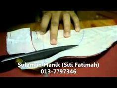 Sulaman Manik - Gadjet Tapak Piping (Jahit Piping Leher Part 1).flv - YouTube